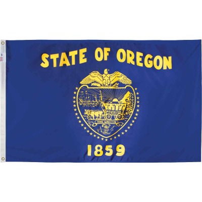 Valley Forge 3 Ft. x 5 Ft. Nylon Oregon State Flag