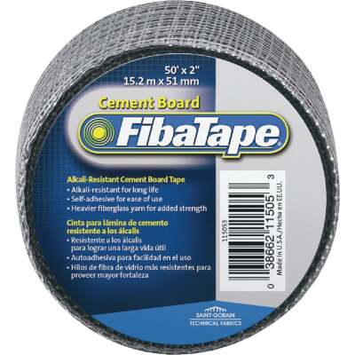 FibaTape 2 In. W. x 50 Ft. L. Cement Board Seaming Tape