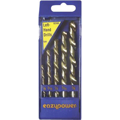 Eazypower Left Hand Drill Bit Set (5-Pieces)