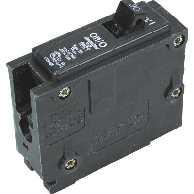 Connecticut Electric 30A Single-Pole Standard Trip Interchangeable Packaged Circuit Breaker