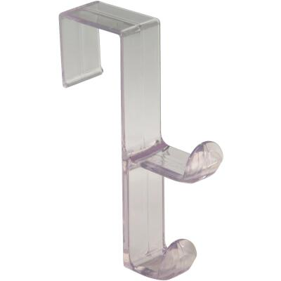 InterDesign Plastic Clear 1 In. Over-the-Door Hook
