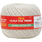 Do it 15-Ply x 510 Ft. Natural Cotton Twine Image 1