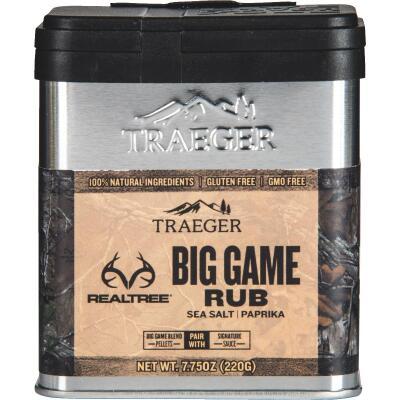Traeger Realtree 7.75 Oz. Sea Salt & Paprika Flavor Big Game Rub
